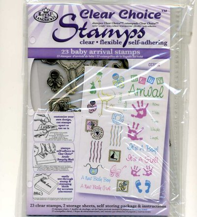 Clear Choice Stamps - Baby Arrival